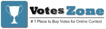 Buy Online IP & Facebook App Votes to Win Contest – Stimmen Kaufen Online Voting Logo